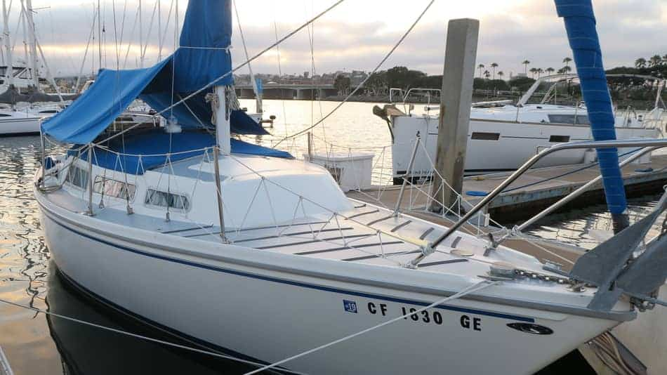 In California What Is The Best Cheap Sailboat to Keep In A