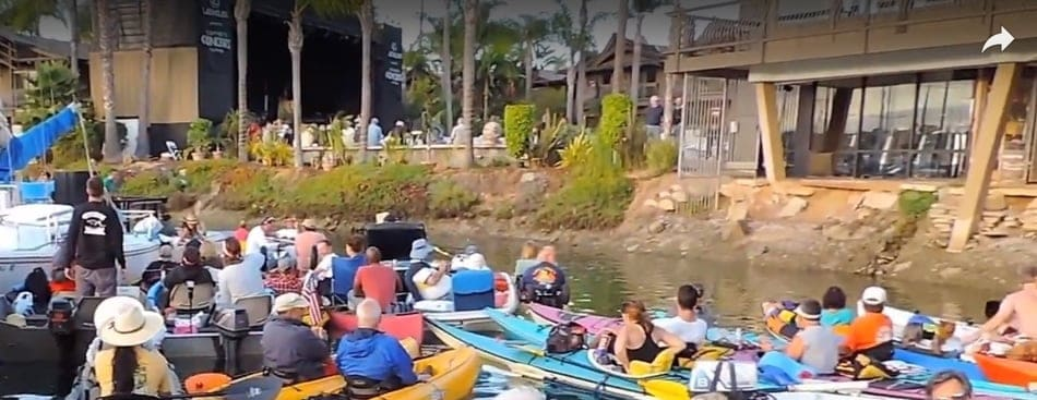 Humphreys Concerts By The Bay Kayak For Free Or Stay Dry
